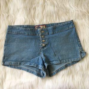Old Navy | Denim Button Up Shorts